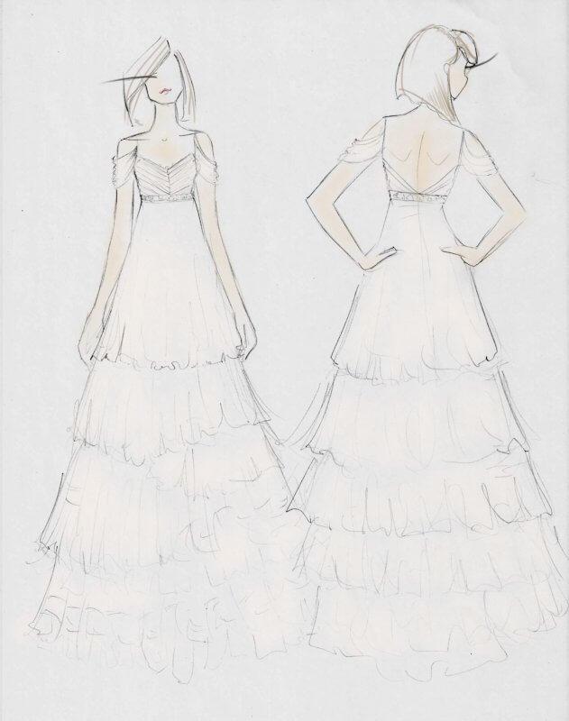 Sketch concept for Kim.