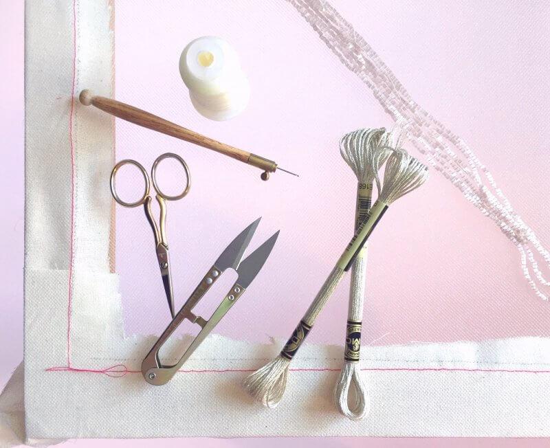 Tambour tools.