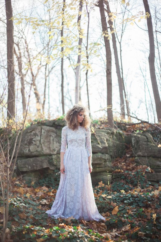 Photo by Gemini Photography, hand-beaded lace gown by Breeyn McCarney