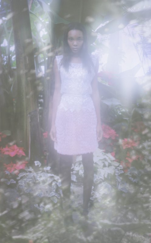 Photo by Natalie Kucken, sequin top and skirt by Breeyn McCarney