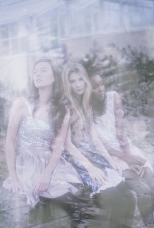 Photo by Natalie Kucken, dresses by Breeyn McCarney